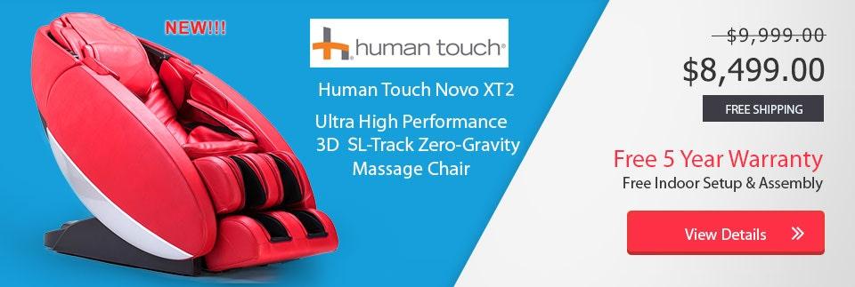 Human Touch Novo XT2 banner