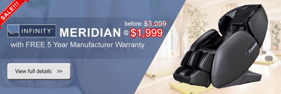 Infinity Meridian Massage Chair Discount