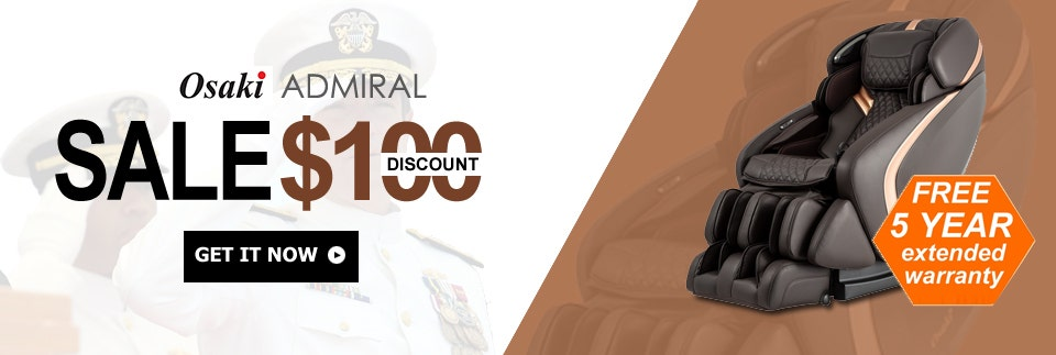 $100 Off Osaki Admiral Massage Chair