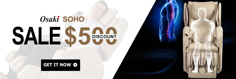$500 Off Osaki SOHO Massage Chair
