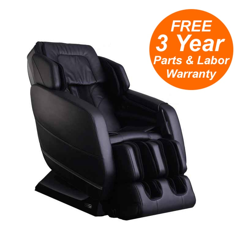 Infinity IT-Evoke Massage Chair with Zero Gravity, Foot Rollers, Space Saving, Lumbar Heat
