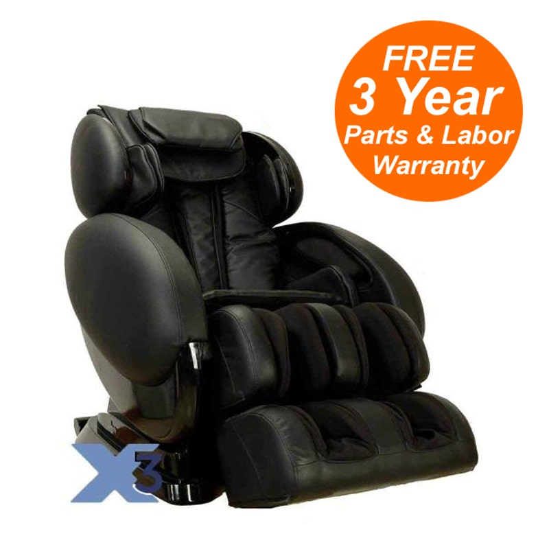 Infinity IT-8500X3 3D Massage Chair with Stretch, Heat, Foot Rollers