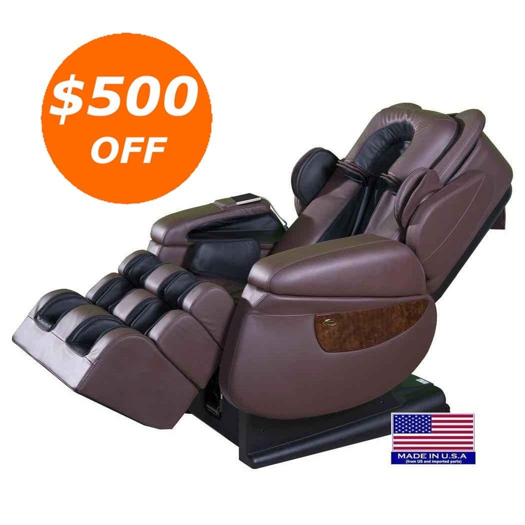 luraco i7 irobotics 3d medical massage chair with zero gravity