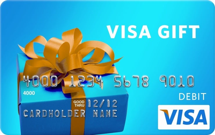 $600 Visa Gift Card