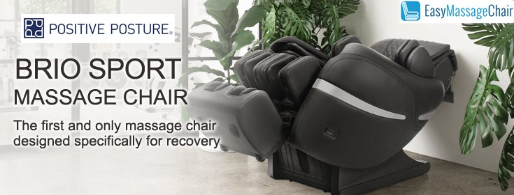 2 Reasons Why You Can Recover Faster with the Brio Sport Massage Chair