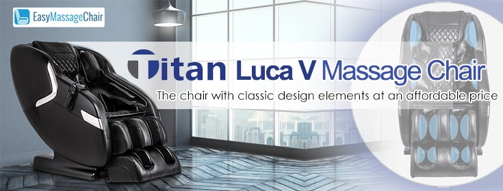 Titan Luca V: More Than Just Luck in Massage Technology