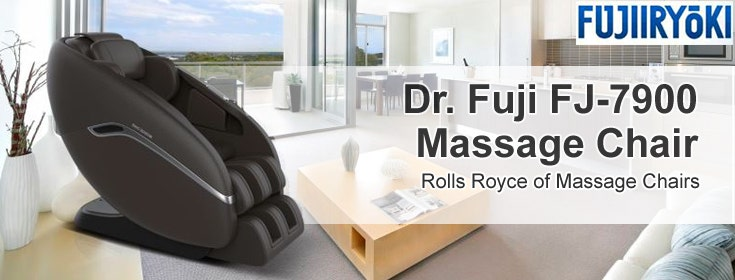 Get First Class Massage Therapy From The Dr. Fuji FJ-7900 Massage Chair