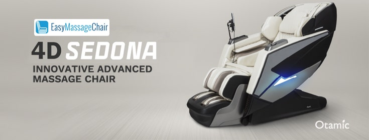Experience Living A Better Life With The Otamic 4D Sedona LT Massage Chair