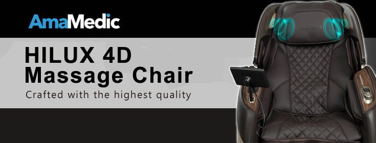 AmaMedic Hilux 4D Massage Chair | Crafted With The Highest Quality, Designed With Stylish Elegance