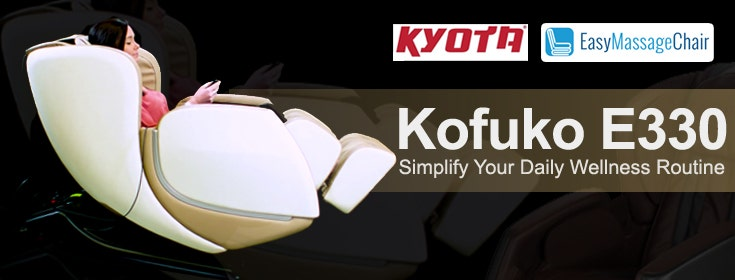 Ease Your Stress Away With The Kyota E330 Kofuko Massage Chair