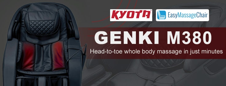 Get Complete Pampering With The Kyota Genki M380