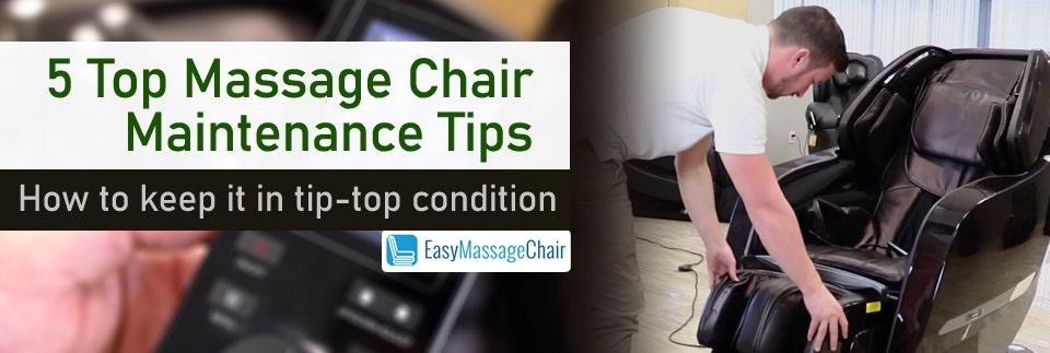 How To Take Care Of The Massage Chair That Cares For You