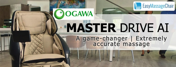 Experience Masterful Massage Therapy With The Ogawa Master Drive AI