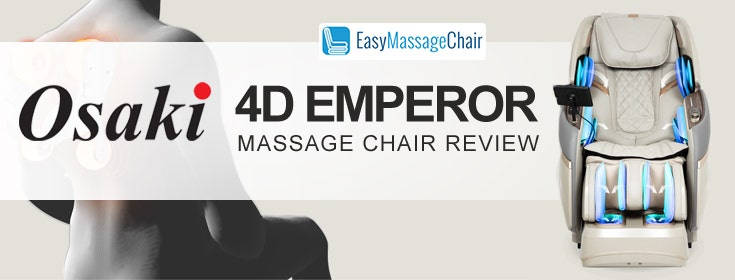 Osaki OS-Pro 4D Emperor: Majestic Massage In Your Own Home
