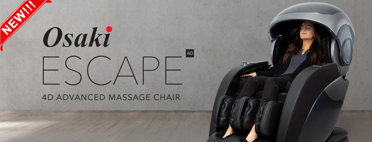 Create Your Own Hideaway With the Osaki OS-4D Escape Massage Chair