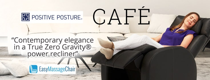 True Comfort With Café True Zero Gravity Leather Recliner
