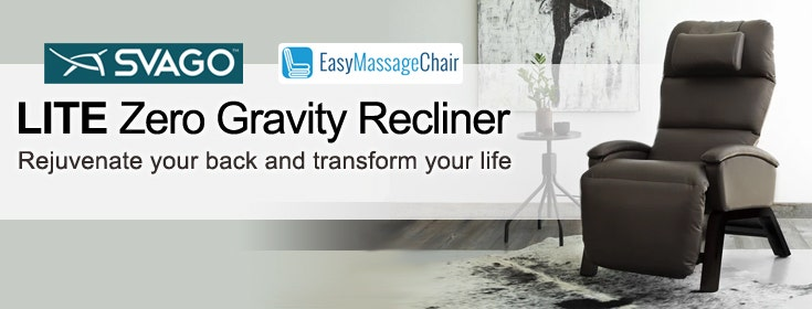 Style and Function Merged Perfectly in the Svago Lite Zero Gravity Recliner