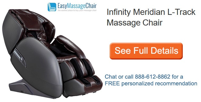See full details of Infinity Meridian L-Track Massage Chair