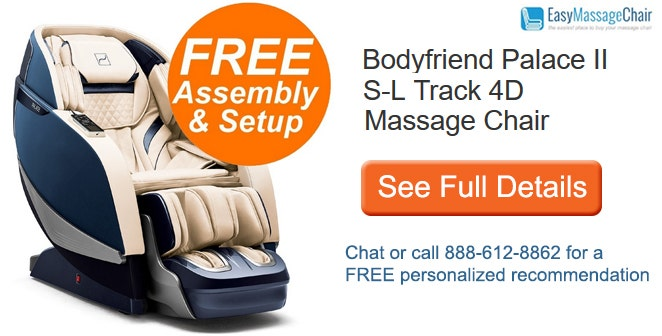 See full details of BodyFriend Palace II massage chair