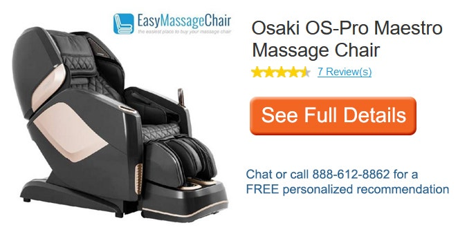 See full details of Osaki Maestro Massage Chair