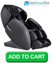 Buy 1 Infinity Meridian L-Track Massage Chair, Black