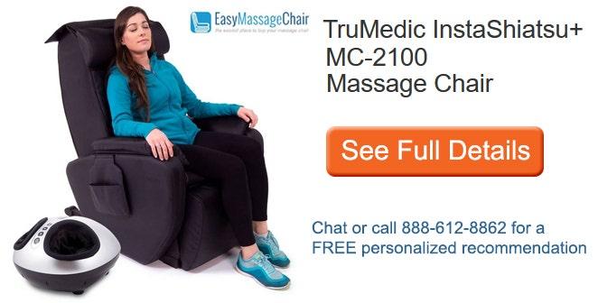 See full details of TruMedic InstaShiatsu+ MC-2100 Massage Chair