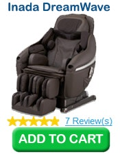 Buy 1 Inada DreamWave Massage Chair, Dark Brown