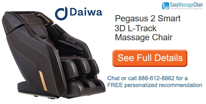 See full details of Daiwa Pegasus 2 Smart massage chair