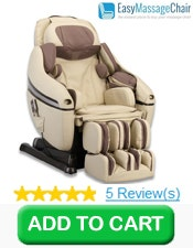 Buy 1 Inada DreamWave Massage Chair (Cream) w/ Free Indoor Setup & Assembly and Free 5 Year Warranty