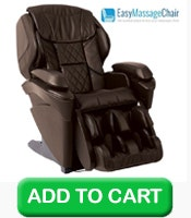Buy 1 Panasonic EP-MAJ7 Real Pro ULTRA™ Massage Chair (Brown) w/ Free Indoor Setup & Assembly and 5 Year Warranty