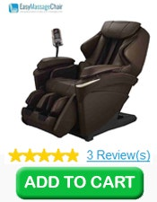 Buy 1 Panasonic EP-MA73 Real Pro ULTRA™ Massage Chair, Brown
