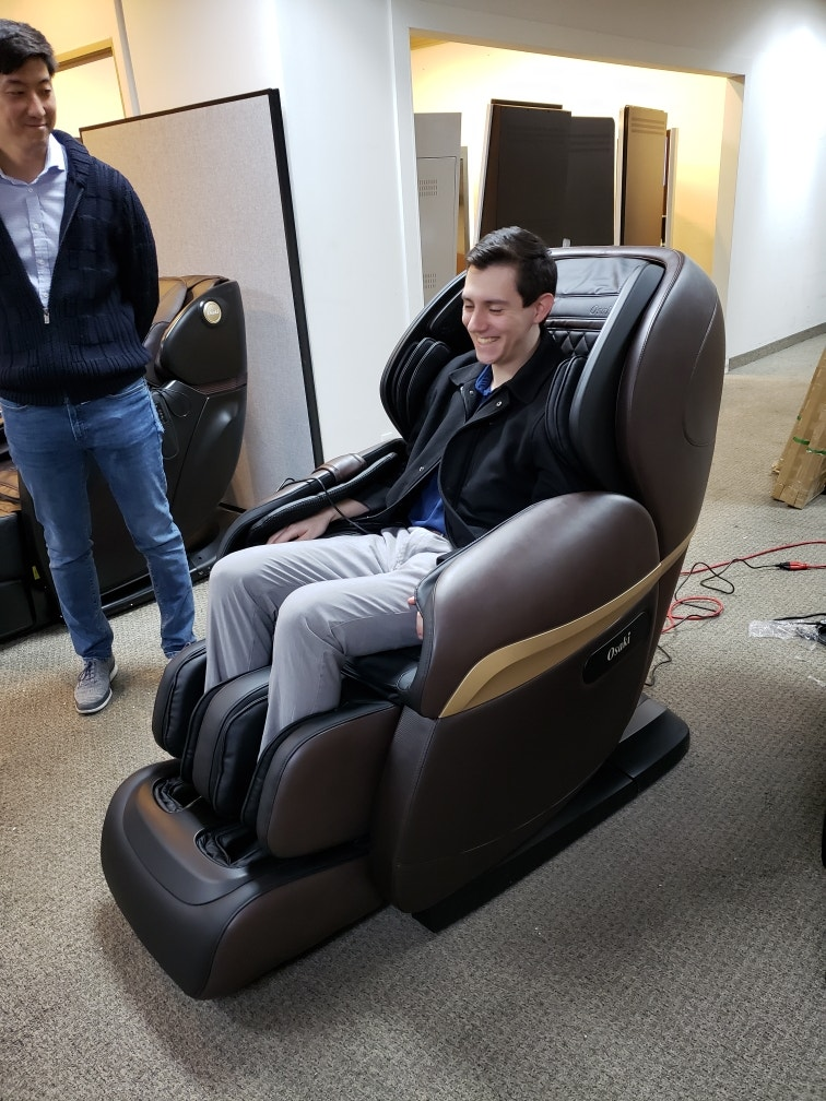 The new and improved Osaki Maestro LE massage chair