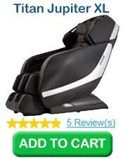 Buy 1 Titan Pro Jupiter XL 3D L-Track Massage Chair, Black