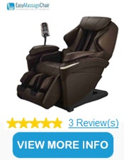 Panasonic EP-MA73 Real Pro ULTRA™ Massage Chair with Body Scan Technology
