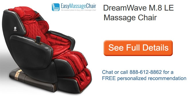 See full details of DreamWave M.8 Limited Edition Massage Chair