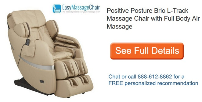 See Full Details of Positive Posture Brio L-Track Massage Chair