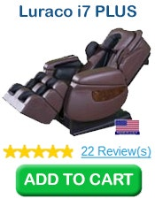 Buy 1 Luraco i7 PLUS Massage Chair, Brown