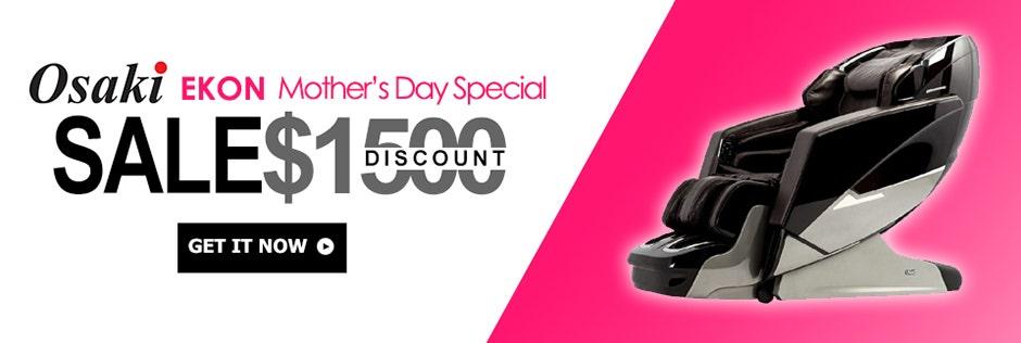 Osaki Ekon Massage Chair Mother's Day Sale