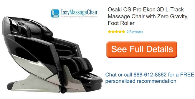 View full details of Osaki OS-Pro Ekon Massage Chair
