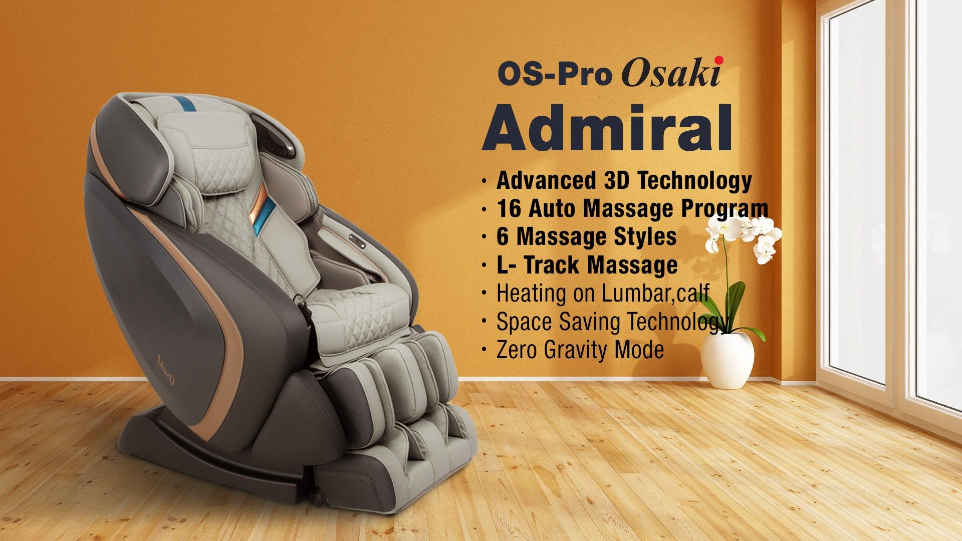Osaki OS-Pro Admiral Massage Chair