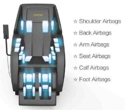 Dr Fuji's FJ-6000 Massage Chair Airbag