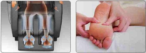 Dr Fuji Massage Chair Foot Roller