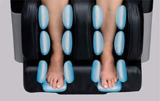 Fujiiryoki EC-3800 Massage Chair Leg Massage