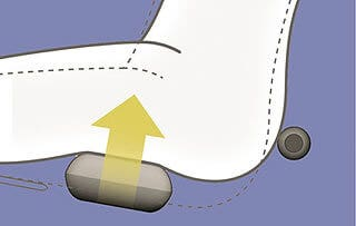 Fujiiryoki EC-3800 Massage Chair Buttocks Massage