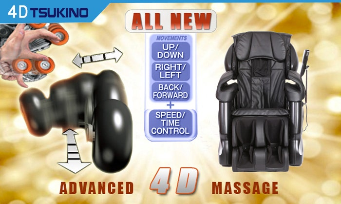 Tsukino Foot Roller Massage Chair