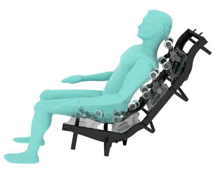 All New 47  L track Roller SystemInfinity Escape Massage Chair   IT Escape L Track Zero Gravity  . Infinity Massage Chairs Canada. Home Design Ideas