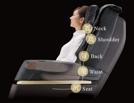 Kiwami Massage Chair 3D Point Navigation System