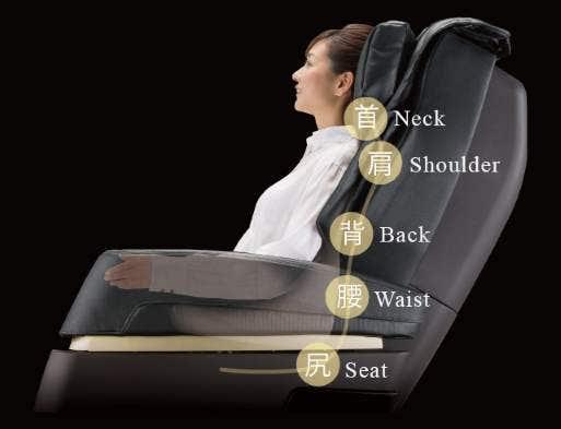 Kiwami Massage Chair 3D Point Navigation System