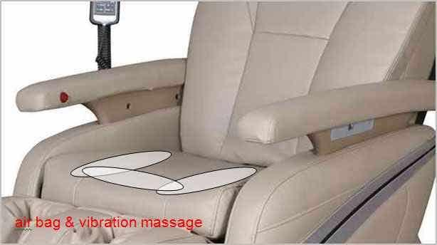 Osaki OS-1000 Massage Chair Details