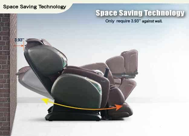 Osaki Space Saving Massage Chair